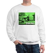 Trailer Park Green Vintage Sweatshirt