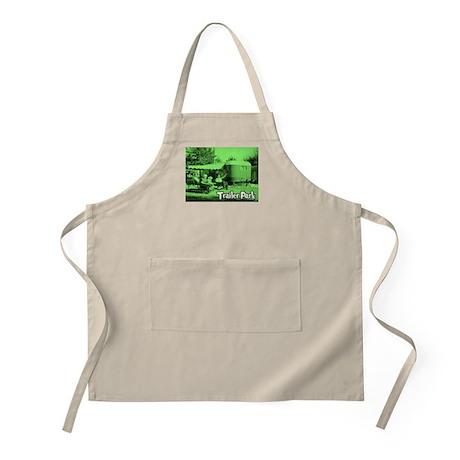 Trailer Park Green Vintage BBQ Apron