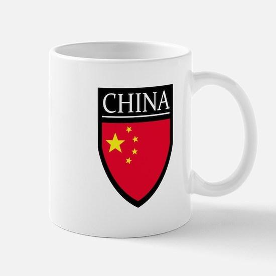 China Flag Patch Mug