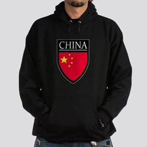 China Flag Patch Hoodie (dark)