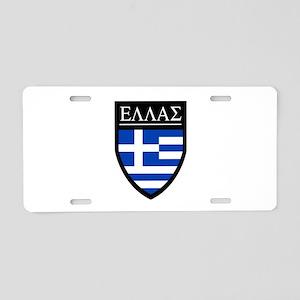 Greece (Greek) Patch Aluminum License Plate