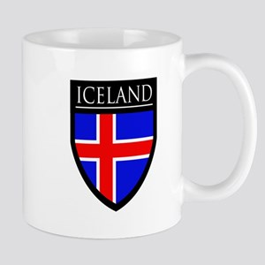 Iceland Flag Patch Mug