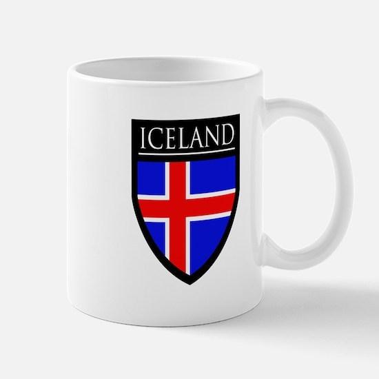 Iceland Flag Patch Mug