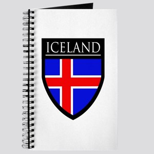 Iceland Flag Patch Journal