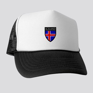 Iceland Flag Patch Trucker Hat