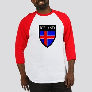 Iceland Flag Patch Baseball Jersey