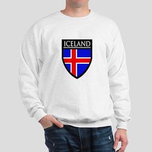 Iceland Flag Patch Sweatshirt