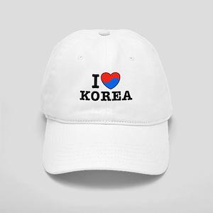 I Love Korea Cap