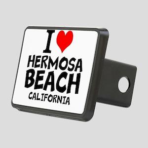 I Love Hermosa Beach, California Hitch Cover