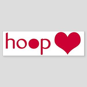 hoophelp Bumper Sticker