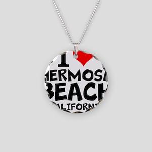 I Love Hermosa Beach, California Necklace