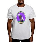 Goth Hula Girl Light T-Shirt