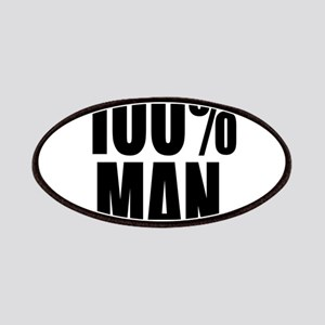 100% Man Patches