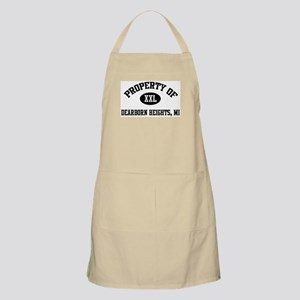 Property of Dearborn Heights BBQ Apron
