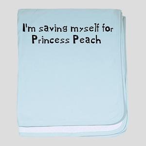Saving Myself For Peach baby blanket
