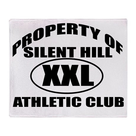 Silent Hill Athletic Club Throw Blanket