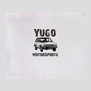 Yugo Motorsports Throw Blanket