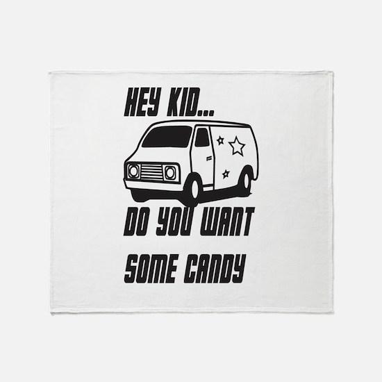 Kidnapper Throw Blanket
