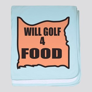 Will Golf 4 Food baby blanket