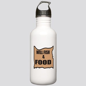 Will Fish 4 Food Stainless Water Bottle 1.0L