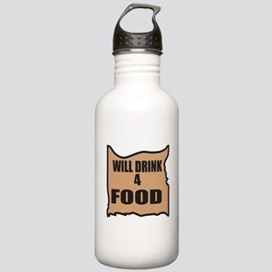 Will Drink 4 Food Stainless Water Bottle 1.0L