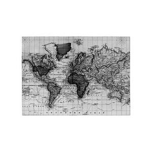 World Map Area Rugs Cafepress