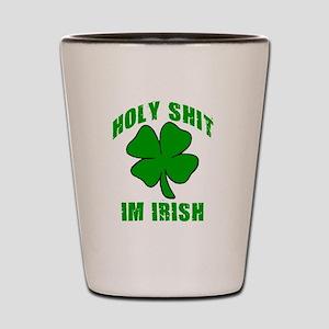 Holy Shit Im Irish Shot Glass