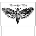 Death's Head Moth Yard Sign