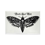 Death's Head Moth Rectangle Magnet (10 pack)