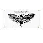 Death's Head Moth Banner
