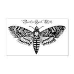 Death's Head Moth 22x14 Wall Peel