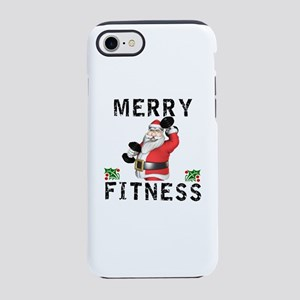 Merry Fitness Santa iPhone 7 Tough Case