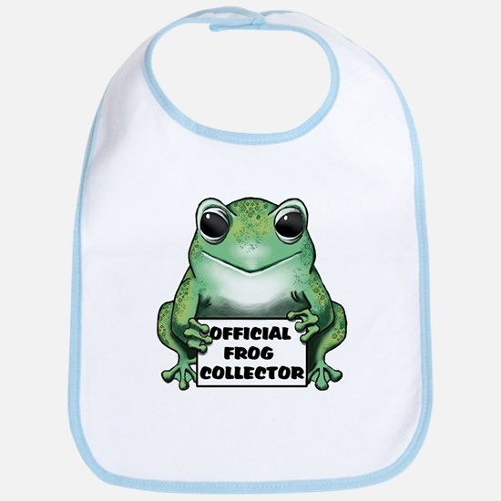 Frog Collector Bib