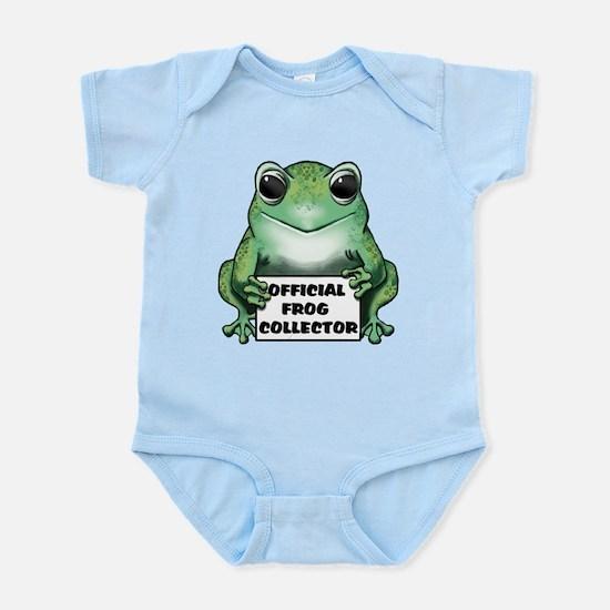 Frog Collector Infant Bodysuit