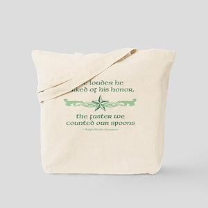 Spoons of Honor Tote Bag