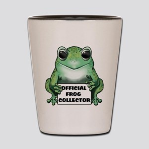 Frog Collector Shot Glass