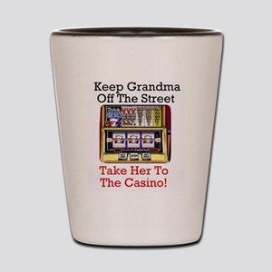 Keep grandma off the street, Casino Shot Glass