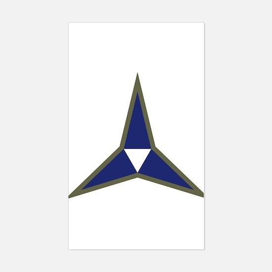III Corps Sticker (Rectangle)