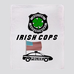 Irish Police Officers Throw Blanket