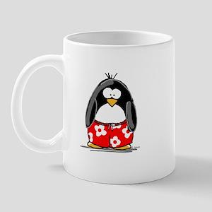 Summer Penguin Mug