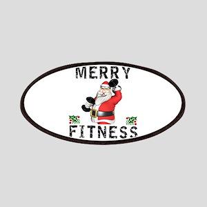 Merry Fitness Santa Patch