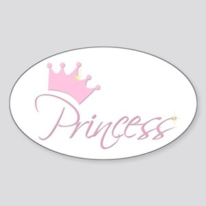 Princess Sticker (Oval)