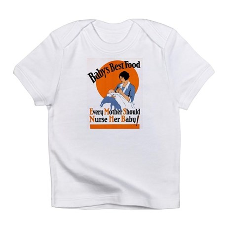 Baby's Best Food (AMA Poster) Infant T-Shirt