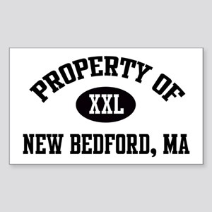 Property of New Bedford Rectangle Sticker