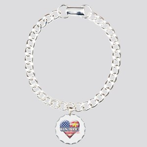 USMC Girlfriend - Charm Bracelet, One Charm