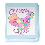 Qingyang China baby blanket