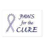 Blue Paws Cure Postcards (Package of 8)