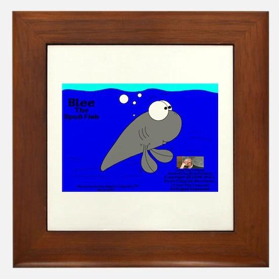 Blee The Spud Fish! Framed Tile