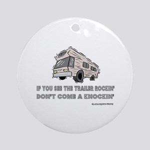 Knockin Rockin Ornament (Round)