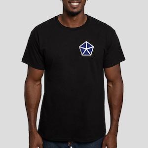 V Corps Men's Fitted T-Shirt (Dark)
